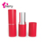 Newest beautiful red matte empty plastic lipstick container/ lipstick packing