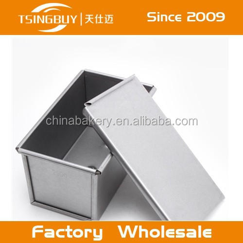 Aluminum pullman pan/Nonstick baking pan/emma bridgewater black toast biscuit tin
