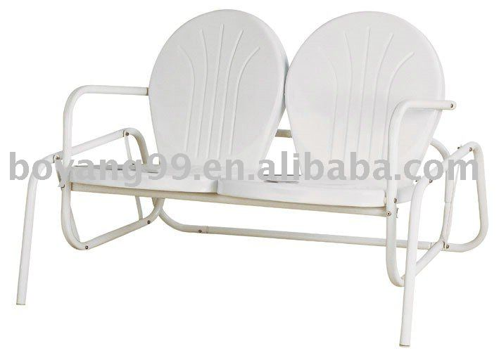 DOUBLE SEAT GLIDER CHAIR