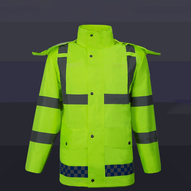 Factoray On Sales Cheap Long Sleeves Twill Industry Workwear Construction Jackets Durable Service Safety Clothing
