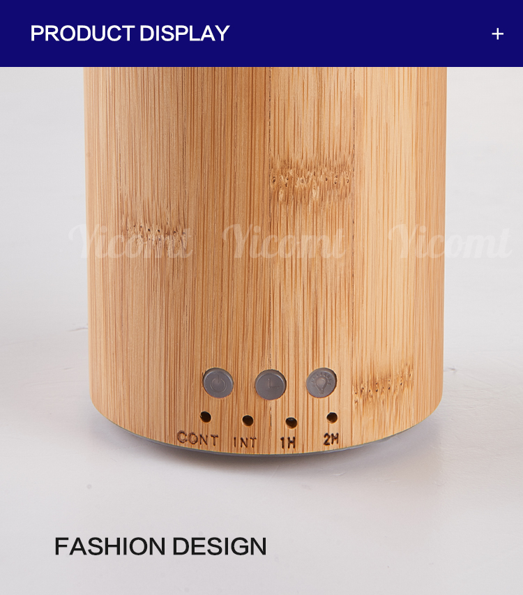 Aroma Essential Bamboo Animal Shaped Oil Diffuser