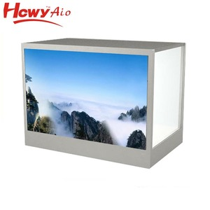 2018 Latest 10 inch Transparent Advertising Player Monitor For Product Display