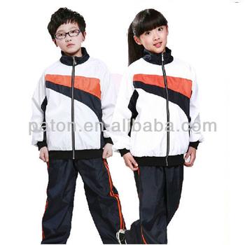 40d4f9e3 Школьная одежда унисекс классический дизайн спортивный костюм для детей