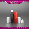5ml sample container travel size perfume plastic roll on bottle for eye massage