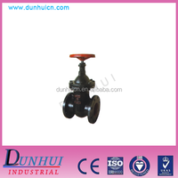 High quality Z41T type non-rising stem cast iron wedge gate valve
