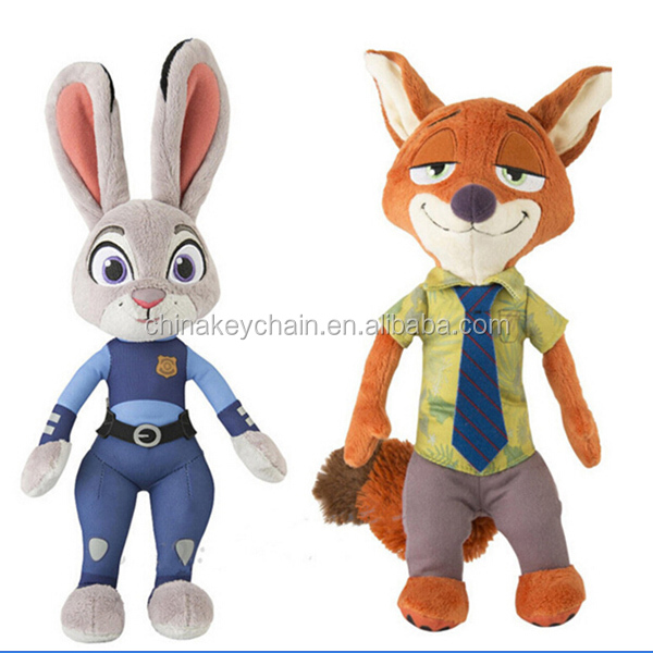 Zootopia Movie NICK WILDE FOX PLUSH <strong>Doll</strong>