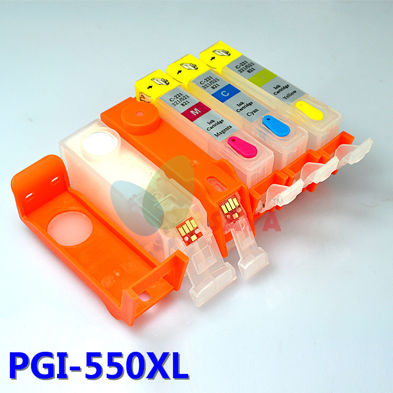 Купить Картридж С Чернилами Saya Canon Pixma Ip7250 Mg5450 Mx925 Mg5550 Mg6450 Mg5650 Mg6650 Ix6850 Mx725 Mx925 Pgi-550