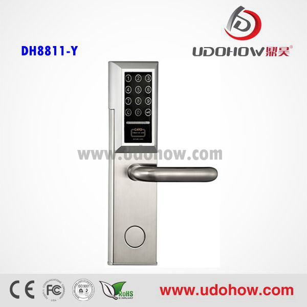 Good quality electronic keypad lock and mechanic key safe for home DH-8811