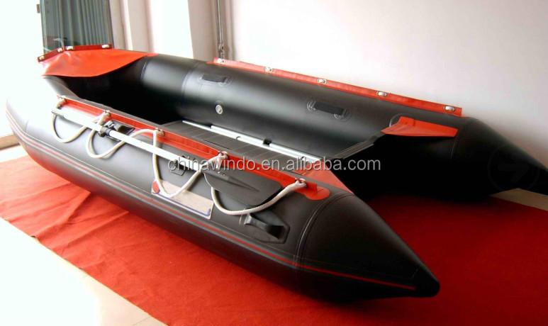 230 cm 470 cm pvc gonflable de p che bateau zodiac pour la p che bateau rames bateaux d. Black Bedroom Furniture Sets. Home Design Ideas