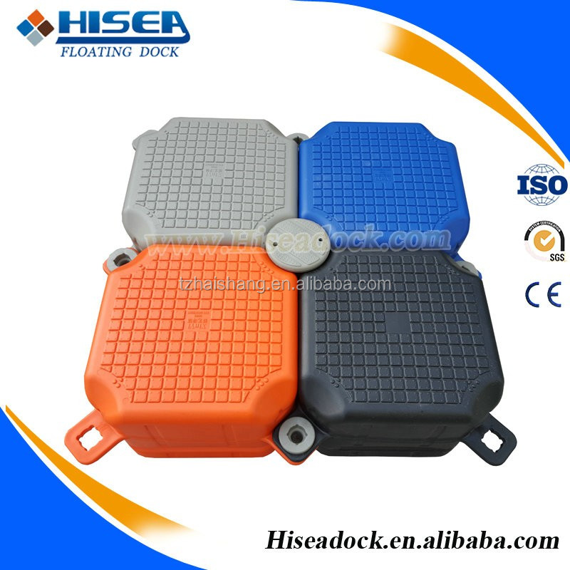Plastic floating dock plastic pontoon cubes