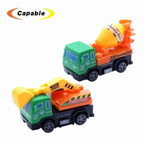 Promotional gift pull back car mini truck toy
