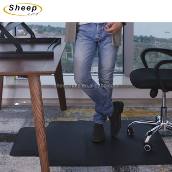 Clear Office Decorative Vinyl Floor Comfort Mats Carpet Protector Runner Anti-fatigue Chair Mat For Hardwood Floors
