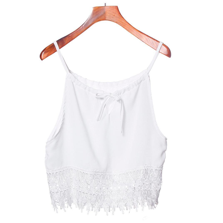 BeautyVan Clearance Deals ! Women Tank, 2018 Hot Sale !1PC Sexy Women Summer Tops Women Lace Tops Short Sleeve BlouseTank Tops Tee T-Shirt