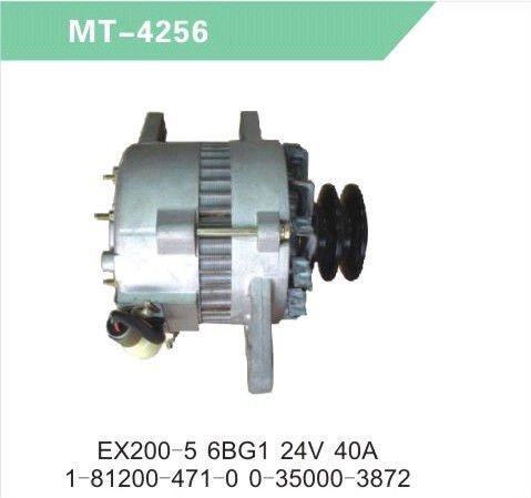 Ex200-5 6bg1 24v 1-81200-471-0 0-35000-3872 Alternator/generator ...