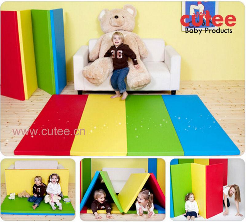 Opvouwbare Kinderen Puzzel Speelmatten,Baby-speelkleed
