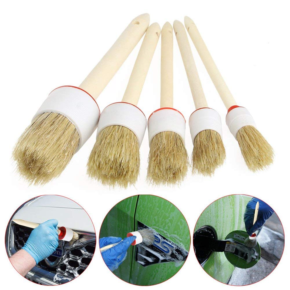 Cheap Car Detailing Spray Find Deals On Line At Sealant Guard 100 Ml Get Quotations 5pcs Soft Brushes For Cleaning Dash Trim Seats Wheels Wood Handle20mm