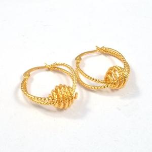 Boy And Friendship Gift Fancy Design Gold Earring Dangle Jewellery Earrings Saudi Jewelry