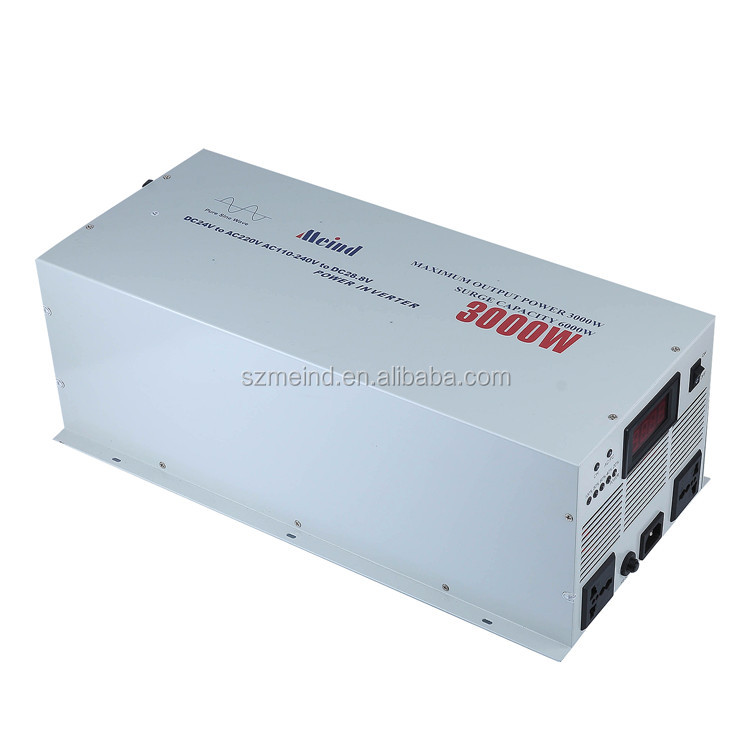 Pure sine wave off grid sun panel inverter 2KW 3KW  solar inverter