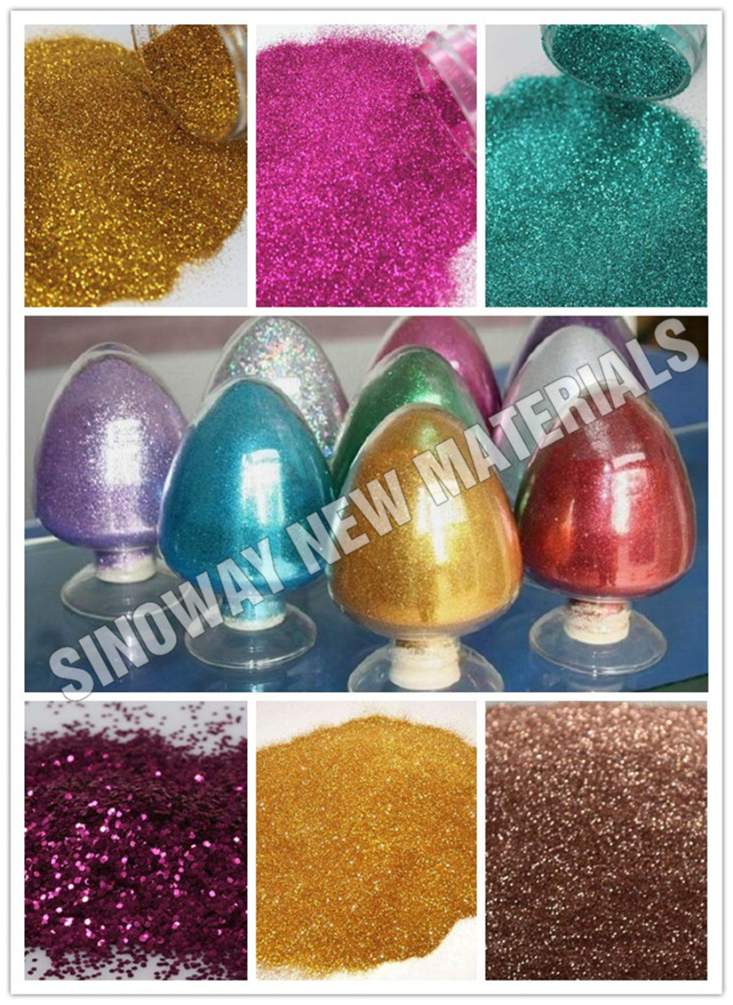 China Cosmetica Fabrikant Shimmer Poeder Lichaam Glitter voor Make