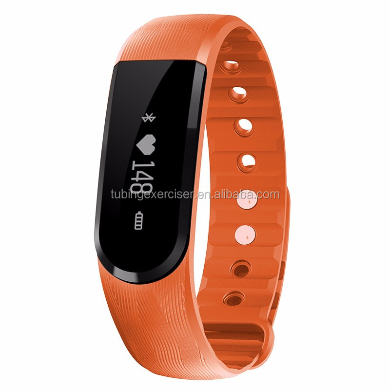 2016 trending hot products sports smart bracelet waterproof heart rate monitor smart band with pedometer
