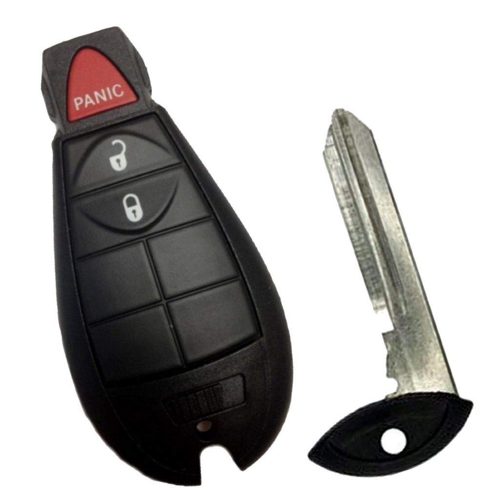 ARANA Keyless Entry Remote Fey Fob Case Shell for Jeep Dodge Chrysler Town and Country 2004 2005 2006 2007