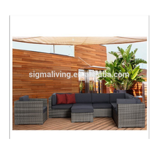 2018 Sigma philippine bamboo furniture sectional sets outdoor rattan sofas