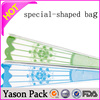 Yason special shape label special shape plastic fruit juice bag with spout special shape juice pouch