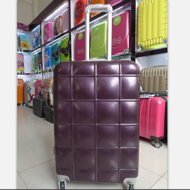 Beautyand practical travel luggage set ABS expandable trolley case high quality school suitcase