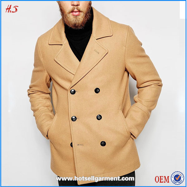 Wholesale new customed cheap clothing manufacturer coat pant men suit pea coat