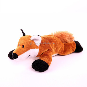Custom meet ASTM cute fox computer screen cleaner plush animal toys stuffed toys