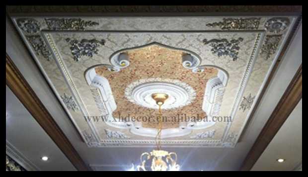 European Style Ps Artistic Ceiling Decorations For Living