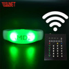 Christmas Light up Concert Radio Remote Controlled RF LED Wristband DMX