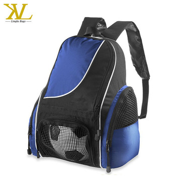 Custom Outdoor Sports Football Boot Soccer Bag Backpack With Ball Compartment Product On