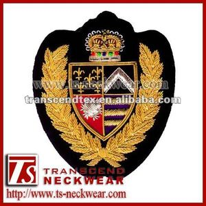 Hand Embroidered Badges,Embroidered Fashion Badges,Coats of arm