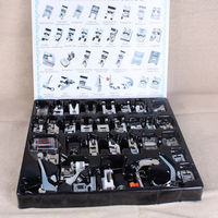 Cheap 32 PCS Sewing Machine Presser Foot Feet Tool For Brother Singer Janome Domestic
