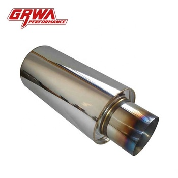 GRWA Car Silence Muffler Performance Exhaust Muffler For HKS Muffler
