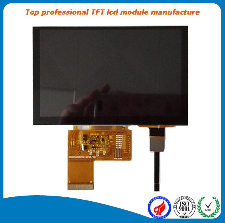 A grade low price 5 inch touch screen display module 800x480 tft with 24 bits RGB interface