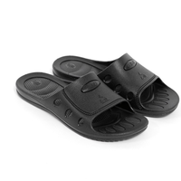 Cheap comfortable ESD Anti-static black 6 holes slipper shoes