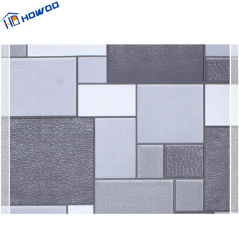 Howoo Washable Vinyl Texture Waterproof 3d Bathroom Wallpaper