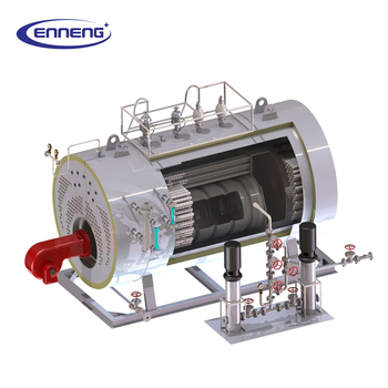 Factory Prices New Industrial Wns Gas Fired Steam Boiler - Buy ...