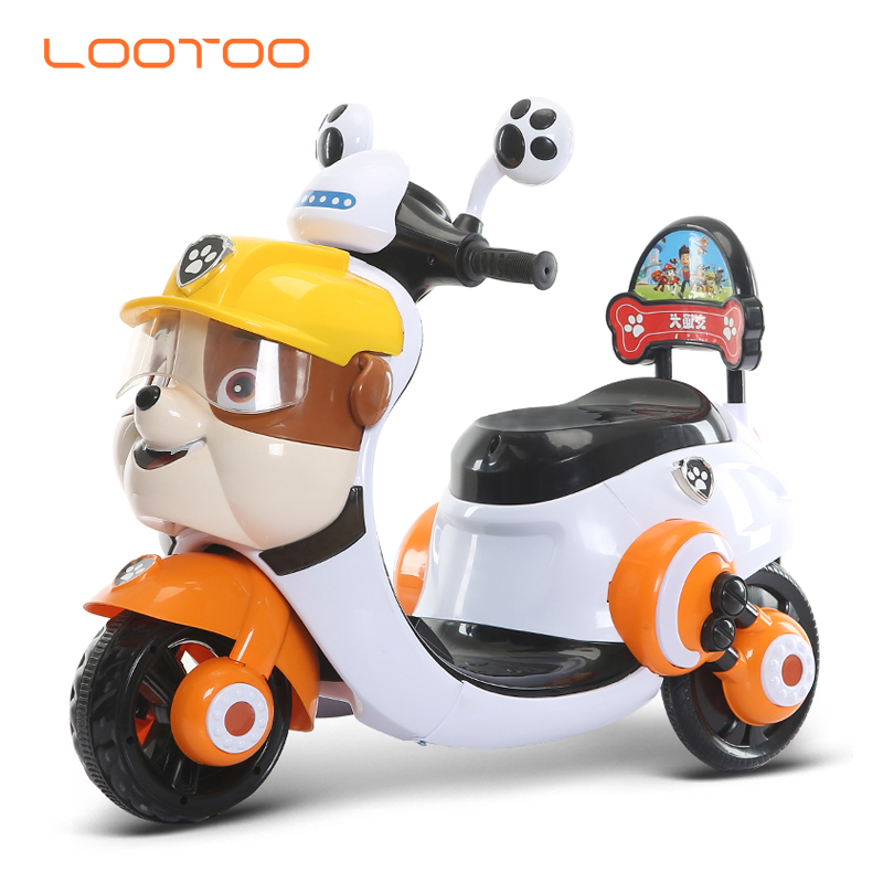 Battery rechargeable motorcycle tricycle for toddlers / children\'s motorised motorbike / motorcycle toys for 3 year old