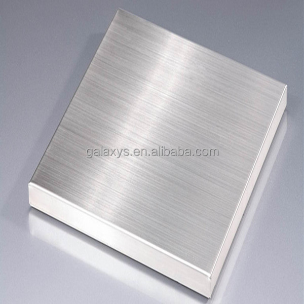 color mirror finish hairline stainless steel sheet 316l mill edge