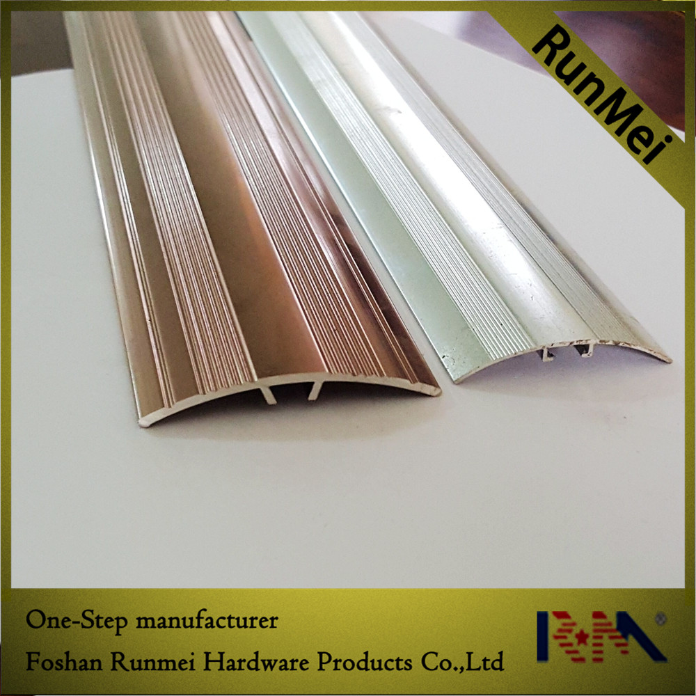 latest product laminate floor aluminum carpet transition cover strip