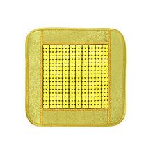 Бамбуковый автомобильный квадратный чехол для сидений, летняя дышащая вентиляция, бамбуковый коврик, удобный, без деформации, автомобильны...(Китай)