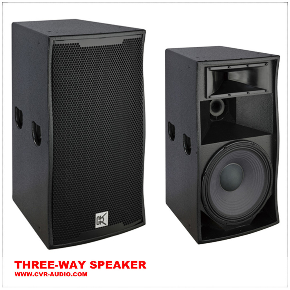 Disco Sound Dj Sistema+ Pa Speakers +3 Way Loudspeaker System ...