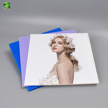 white 5mm PP Plastic Sheets For Advertisement Placard