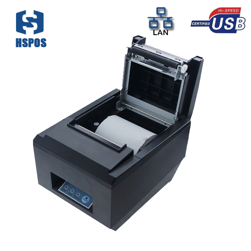 80mm ticket thermal printer with printer driver xp, Linux,win7,win8,win10 HS-825ULC