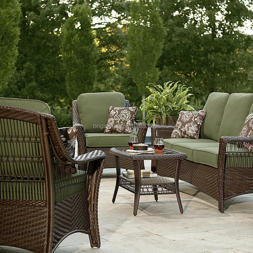 Set Resin Wicker Outdoor Furniture