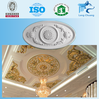 Popular Gypsum Ceiling Material Cove Plaster Plain Cornice For Home
