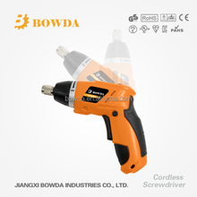 Newest 3.6V Mini Cordless Screwdriver with Li-ion Battery